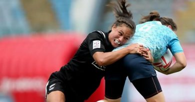 Black Ferns Sevens' Ruby Tui blazing a trail for women in sports broadcasting.