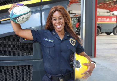 Zinhle Ndawonde says rugby saved her life